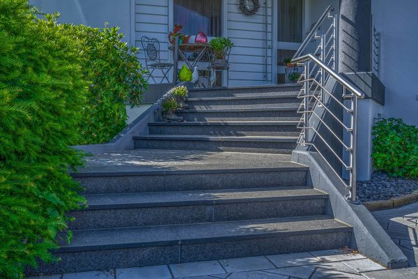Gartenbau Treppe